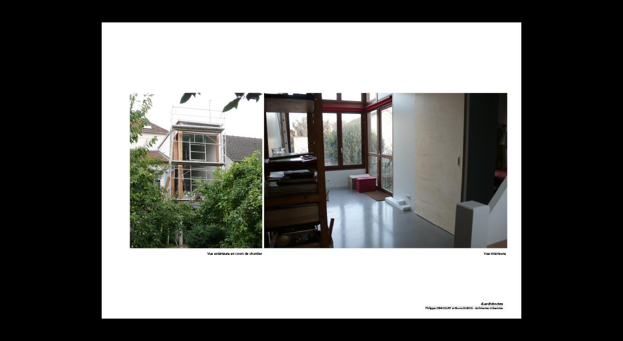 amÉnagement et extension d'une maison | bruno dubois d.architectes