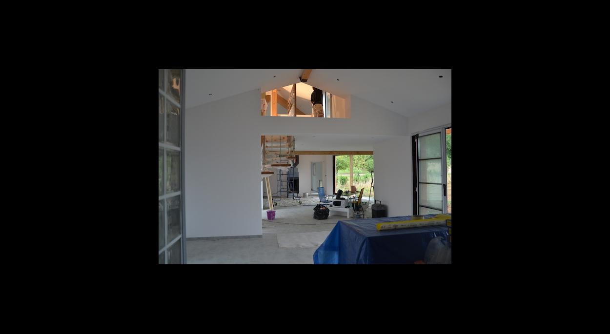 Architecture Eric Agro Espace intérieur