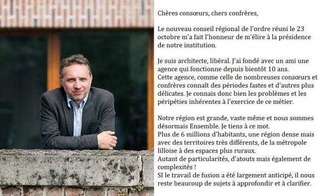 Newsletter des architectes de hauts de france 11 17 for Architectes de france