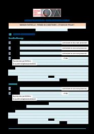 Contrat Du0027architecte Pour Maison Individuelle Mission Partielle PC Et PRO  2014 Modèle. Téléchargement