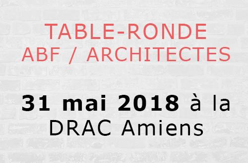 Table-ronde ABF/Architectes