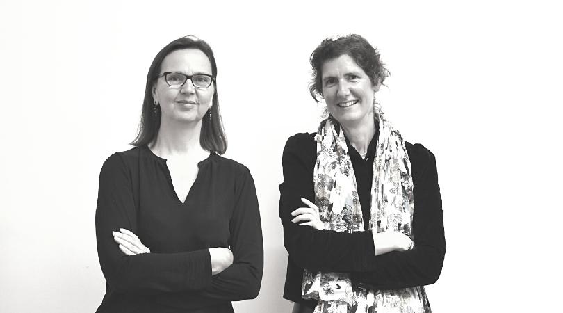 Maryline Chevalier et Hélène Corset
