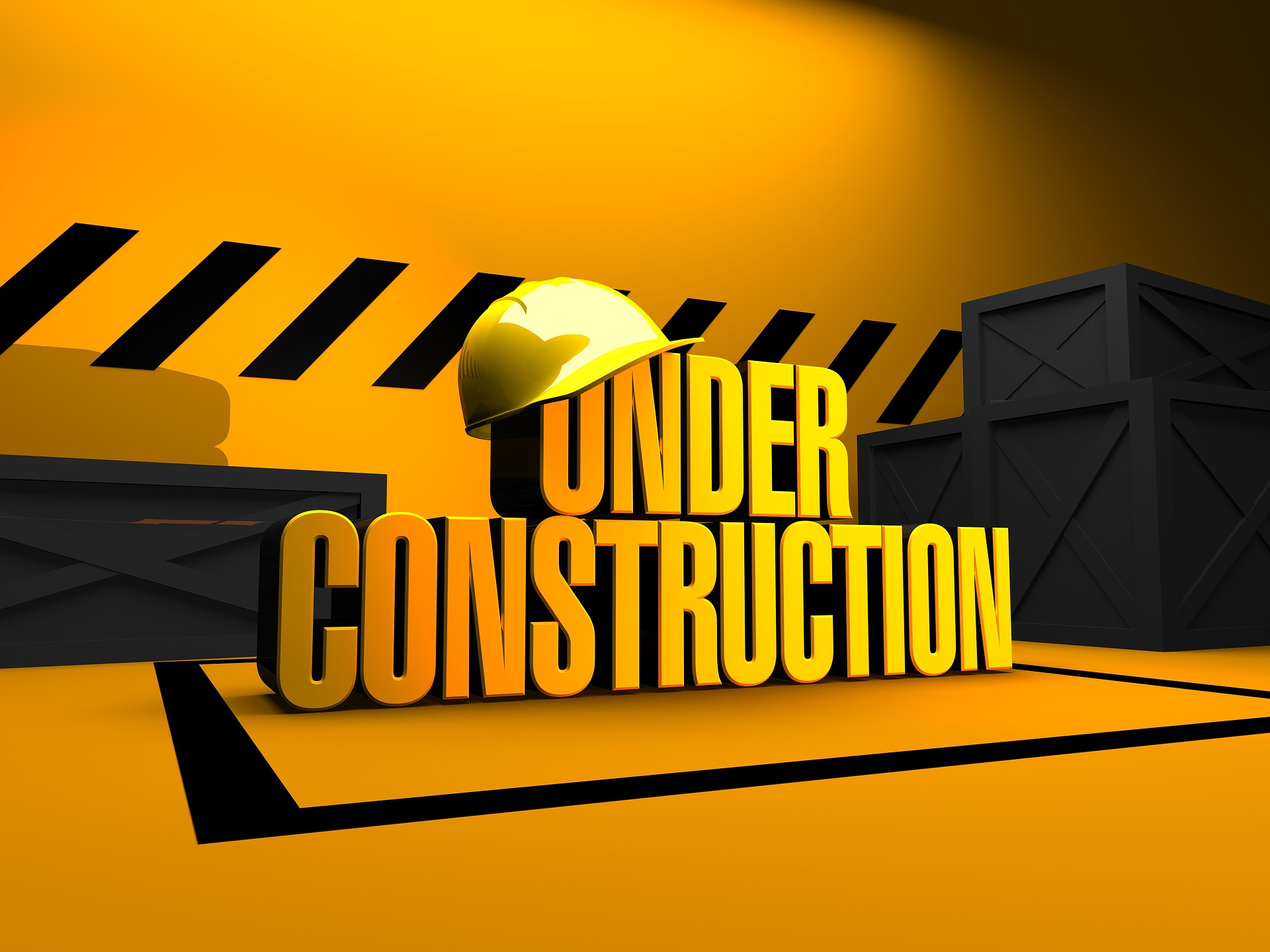 chantier under construction