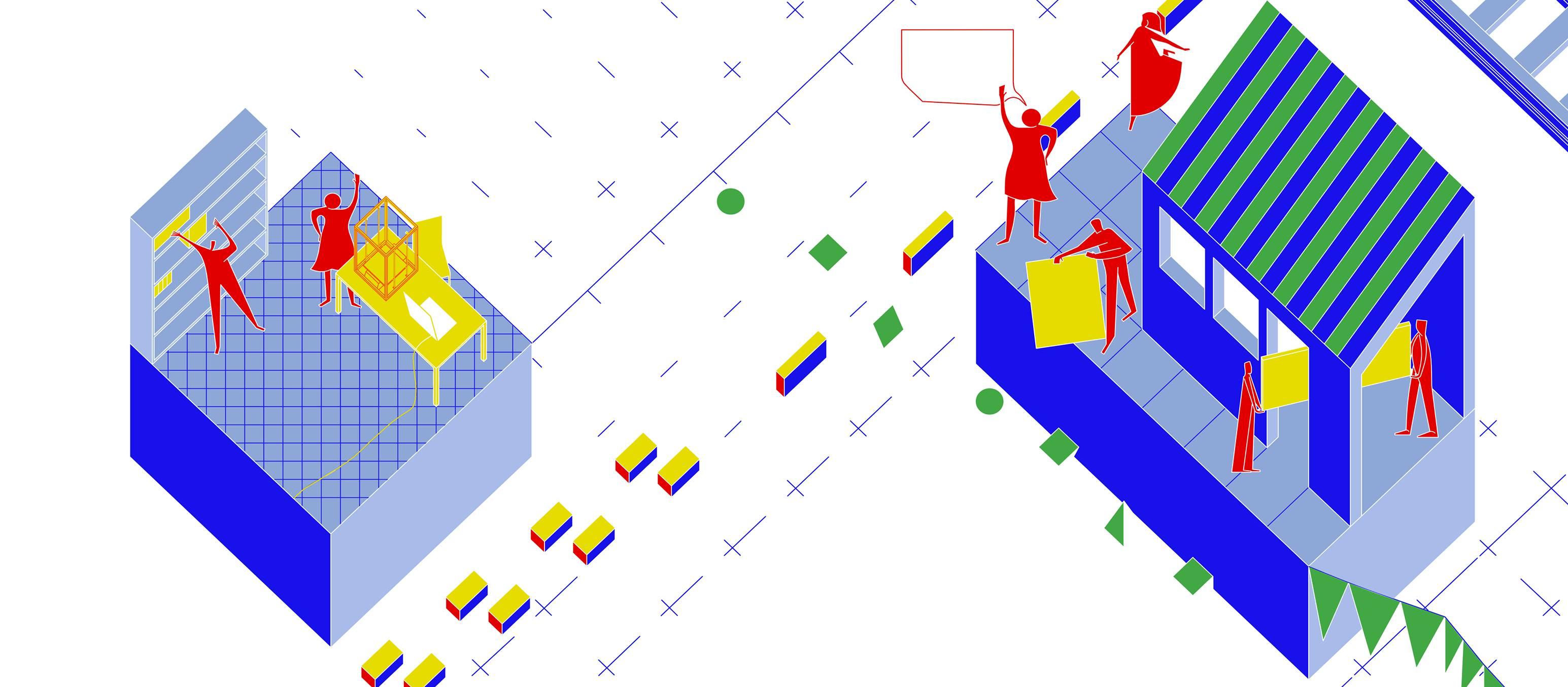 Exposition Espaces Possibles : Prendre la mesure des tiers-lieux