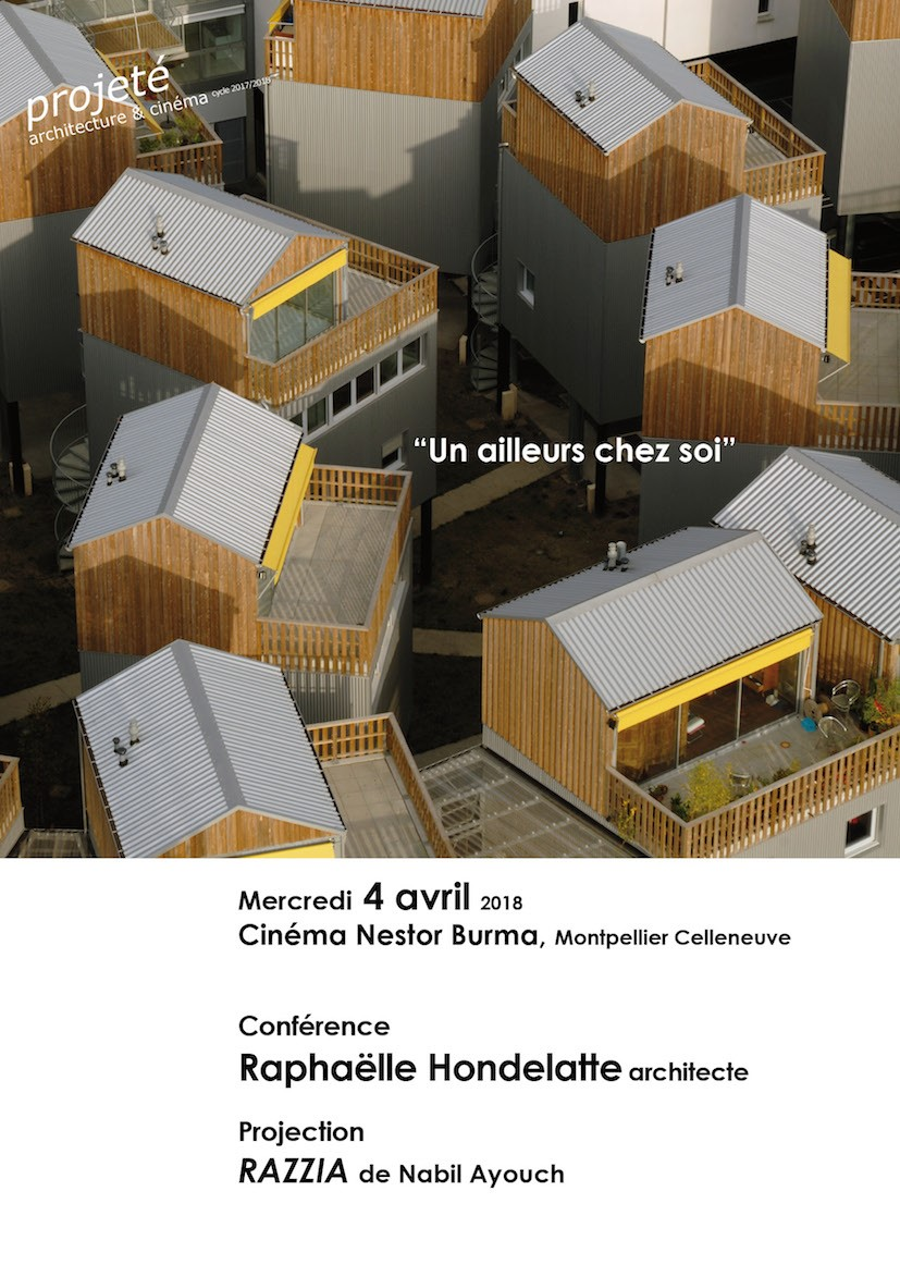 4 avril montpellier projet architecture cin ma un. Black Bedroom Furniture Sets. Home Design Ideas