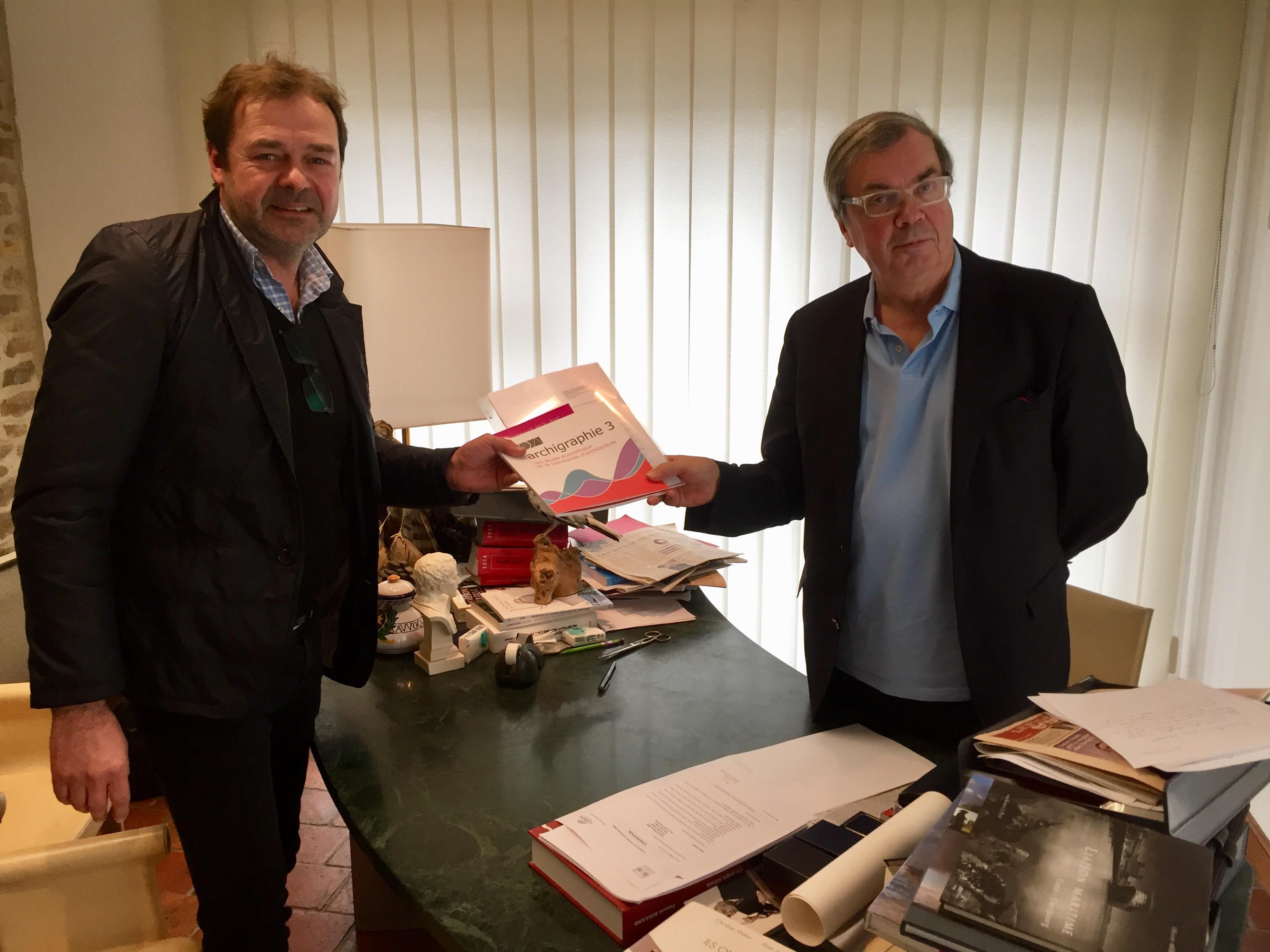 Stéphane Bossuyt et Alain Tourret